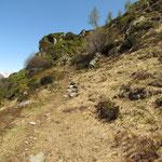 Sentiero per il Rifugio Garzonera