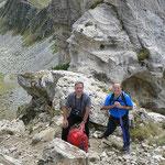 Bocchetta di Sasso Bianco 2404 m al ritorno