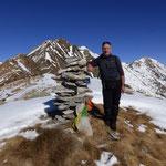 Dalla cima 1910 m verso la Cima d'Erbea ed il Gaggio
