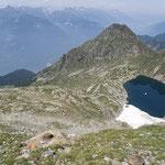 Lago di Canee e Alpe di Peu