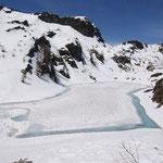 Lago del Pèzz 1979 m e Om Cupign