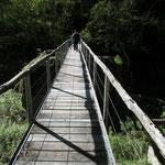 Ponte sopra il fiume Rovana