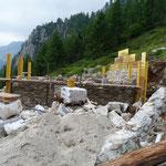 Ripristino cascina all'Alp de Vazzola