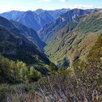 Val Pincascia ..... ci aspetta un lungo rientro .....