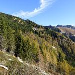 Verso l'Alpe di Sassello