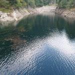 Bacino artificiale della Roggiasca 956 m