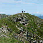 Chico e Luciano sul Mottone della Tappa 2130 m