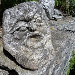 A Sella abbiamo scoperto delle sculture.......