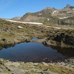 Laghetti della Miniera 2525 m e Piz Blas