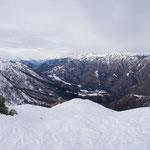 Panoramica dal Pizzo Leone