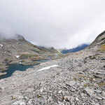 Laghit de Val Rossa e Piz de Val Rossa