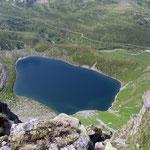 Lago di Dentro durante la salita al Schenadüi