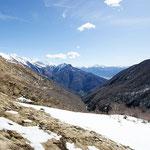 Panoramica dall'Alpe di Bietri