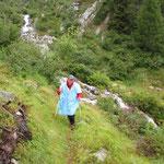 Ritorniamo all'Alpe Cassengo .........