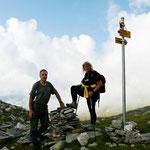 Bocchetta a 2270 m
