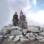 Ilario e io sul Pizzo di Claro 2720 m