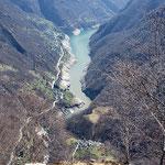 Corippo e il Lago di Vogorno
