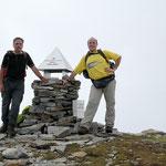Luciano e io sul Piz de Molinera 2288 m