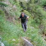 Salita all'Alp de Vazzola