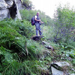Sentiero per l'Alp de Largè