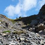 Bocchetta del Lago Nero 2563 m