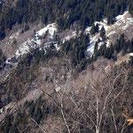 Monti di Saurù dal sentiero Vatiscio - Alpe di Stabbiello