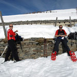 Luciano e Chico all'Alpe Pesced 1778 m