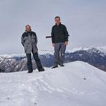 Chico e io sul Pizzo Leone 1659 m