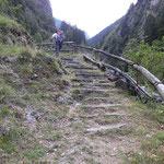 Entriamo nella Val de la Forcola
