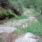 Scalinata a ca. 1300 m