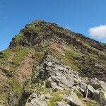 Cima di Piancabella 2671 m (passaggio chiave)