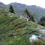 Sentiero S. Bernardino - Bocchetta de Curciusa