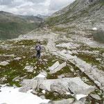 Discesa verso il Lago di Lucendro