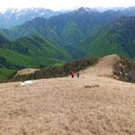 Discesa per l'Alpe Bassa