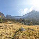 Pizzo di Claro dall'Alpe di Canee 1995 m