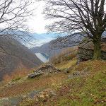 Lago di Vogorno e Lago Maggiore da Odro