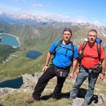 Luciano e io sul Schenadüi 2678 m