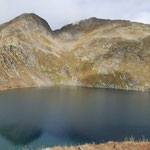 Lago grande di Chièra con Pécian e Pécianett