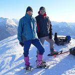 Heino e Simone sul Piz de Molinera 2288 m