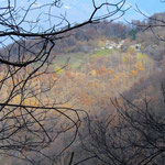 Monti di S. Abbondio 800 m dal sentiero