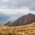 Dall'Alpe Mognone verso il Lago Maggiore