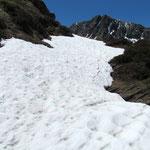 ...... neve sul sentiero ....