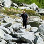 Sentiero per la Bocchetta di Orgnana