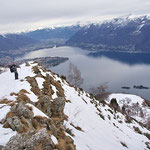 Discesa dall'Alpe di Naccio