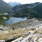 Discesa verso il Lago dello Stabbio