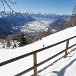 Dalla Capanna Genzianella verso Locarno