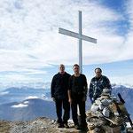 Madone 2039 m ( Luciano, Chico e io)