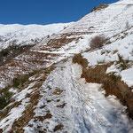 Sentiero Alpe Pietrarossa - Barchi di Colla
