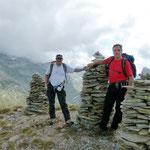 Pizzo Taneda 2667 m (Chico e io)