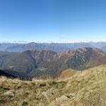 Panoramica dal Monte Gradiccioli
